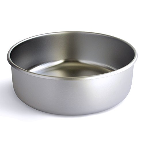 Basis Pet Made in The USA Stainless Steel Dog Bowl, Extra Large (18 Cups), 1 ()