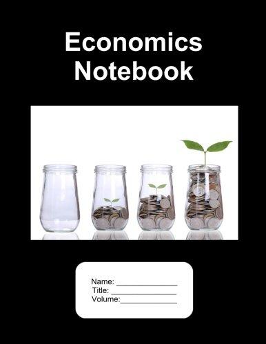 """Download Economics Notebook. 500 Pages Graph Paper. 8.5""""x11"""" PDF"""