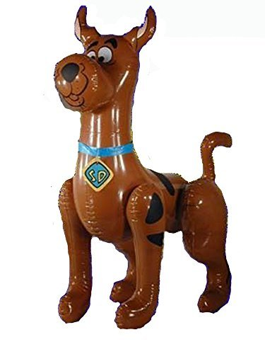 Large Scooby Doo Inflatable Blow up Toy by Novelties Company