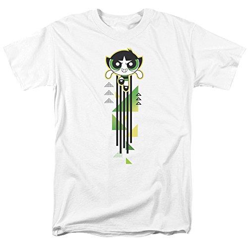 Trevco Powerpuff Girls Buttercup Streak Unisex Adult T Shirt for Men and Women ()