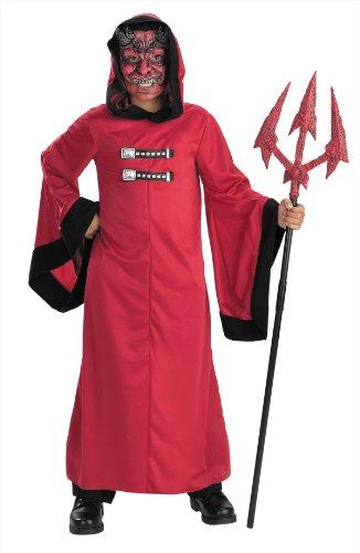 Kids Scary Sinister Devil Costume - Child Size 10-12