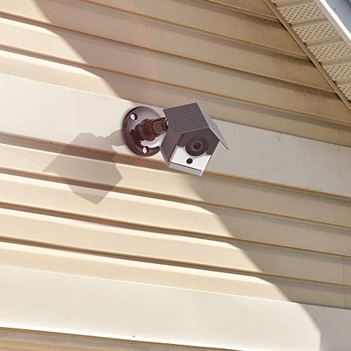 Aobelieve Outdoor Birdhouse Cover with Wall Mount for Wyze Cam v2 - Black, 1-Pack