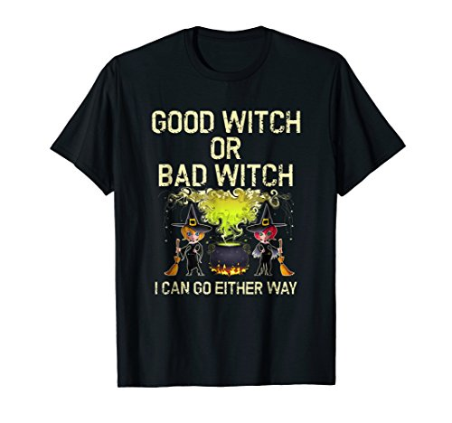 Funny Halloween Costume Party Good or Bad Witch