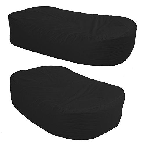 4FT BEANBAG SOFA - Indoor / Outdoor Giant Bean bag (BLACK)