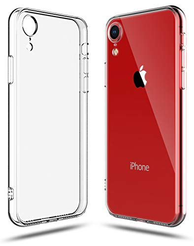 Shamo's for iPhone XR Case Clear Shock Absorption TPU Rubber Gel Transparent Soft Cover (Clear)