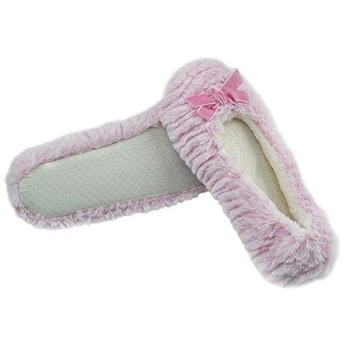 Ballet Light Plush Slippers Ballerina Soft Sole Pink Home House Slipper Indoor Women's Uzxt8v
