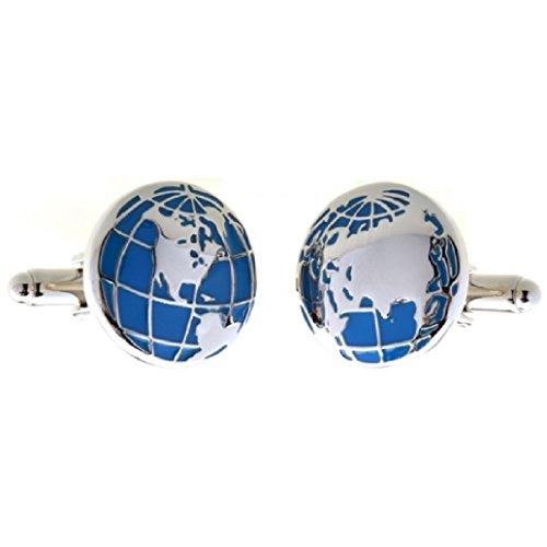 MRCUFF Globe Cufflinks Presentation Polishing product image