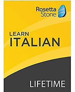 [OLD ASIN] Rosetta Stone: Learn Italian with Lifetime Access on iOS, Android, PC, and Mac [Activation Code by Mail] (B07HGQ4NFS) | Amazon price tracker / tracking, Amazon price history charts, Amazon price watches, Amazon price drop alerts