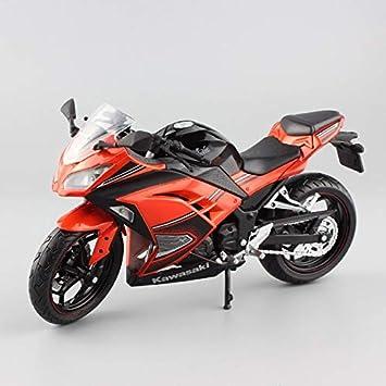 Amazon.com: LENO MotoGP Kawasaki Ninja 250R Motorcycle Die ...