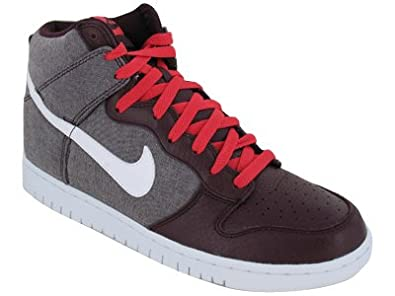 Nike Men red DUNk high Casual Shoes india