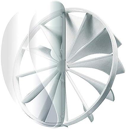 Válvula antirretorno de 125 mm de diámetro para ventilador de pared/válvula antirretorno 125 mm para tubo de ventilación.: Amazon.es: Bricolaje y herramientas