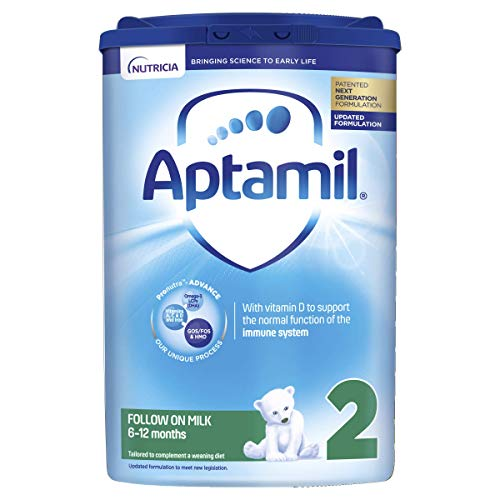 Aptamil Follow-On Milk 2, 6-12 Months 800 g, Pack Of 6