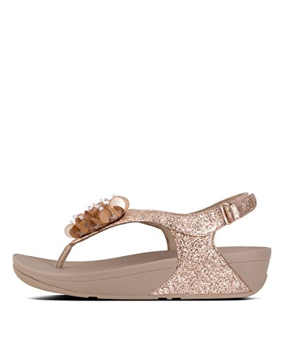 Bride Femme Boogaloo Rose Sandals Gold Fitflop Arriere Back Strap AqvwcBZR