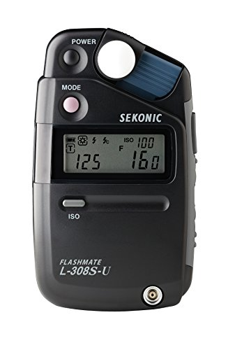 New Sekonic L-308S-U Flashmate Lightmeter And Exclusive 3-Year - New Icon Customer