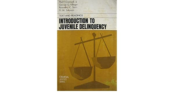 introduction of juvenile delinquency
