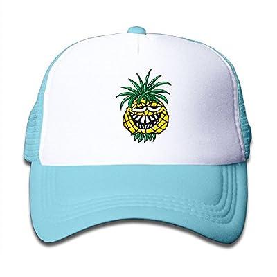 Elephant AN Funny Pineapple Mesh Baseball Cap Kid Boys Girls Adjustable Golf Trucker Hat