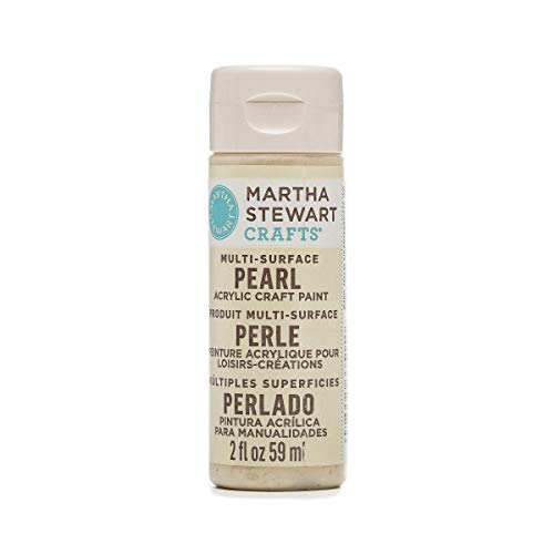 Paint Gold Pearl (Martha Stewart 33515 Multi-Surface Craft Gold Mother of Pearl, 2 oz Paint)