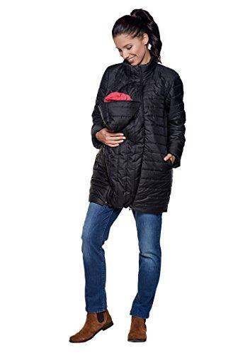 Be! Mama 3in1 - Wintertragejacke/Umstandsjacke & normale Damenjacke in einem, Modell: SORRENTO