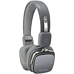 Elysium Libretto, Bluetooth 4, wireless, luxury, audiophile, HIFI, on ear, headphones compatible with smart phones, mp3 players and tablets with built in microphone (Slate) colour