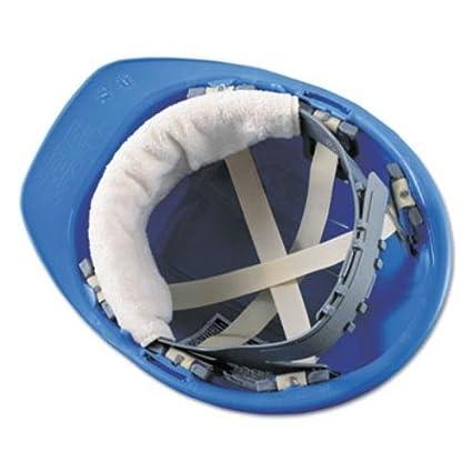 fb3c571424c Occunomix 870B100 Snap-On Hard Hat Sweatband-Beige-Bulk Pack-100 (Pack of  100) - Job Site Safety Equipment - Amazon.com