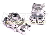 Integy Hobby RC Model T8370SILVER Alloy Transmission Case for Associated Mini MGT 3.0