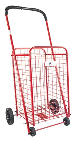 ATH Small Deluxe Rolling Utility / Shopping Cart - Stowab...