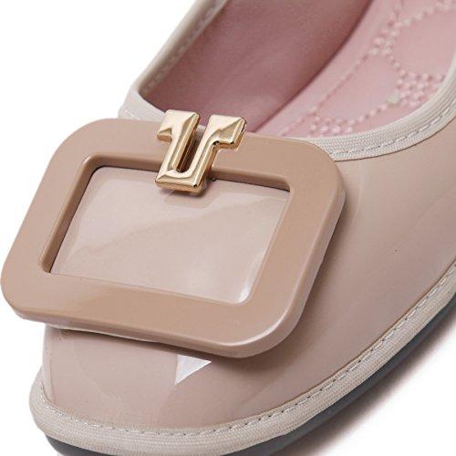 Egg Fortuning's Roll à bout JDS œil carré à décontractées semelles souples chaussures Chaussures à Casual xORI66