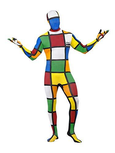 Rubiks Cube Second Skin Costume ()