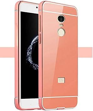 PREVOA ® 丨 Metal Bumper Frame + Back Plastic Case Protictive Funda para Xiaomi Redmi Note 4 Pro Prime 5,5 Pulgadas Sartphone: Amazon.es: Electrónica