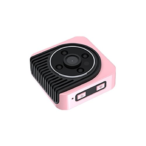 Sunfei Mini DV Camera Wearable Full HD Car Sports IR Night Vision DVR Video Recorder (Pink) by Sunfei