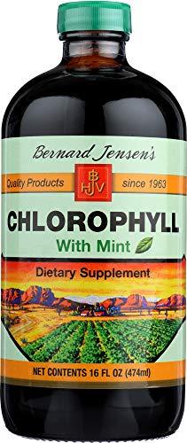 Bernard Jensens (NOT A CASE) Chlorophyll with Mint (Bernard Jensen Chlorophyll Mint)