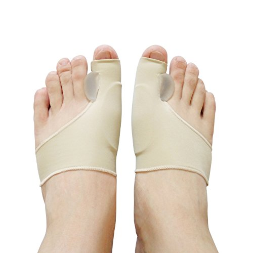 Correct Toes - 1 Pair The Newest Silicone Hallux Valgus Braces Big Blackmailed Orthopedic Correction Socks Toes Separator Feet Care - Toe Separators ()