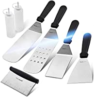 wanbasion BBQ Griddle Accessories Set, Flat Top Griddle Accessories, BBQ Griddle Accessories Kit with Heavy Duty Scraper...