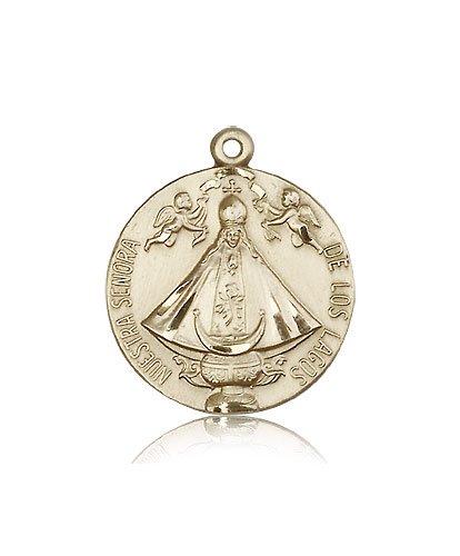 14kt Gold Senora de Los Lagos - Los Medal Lagos De