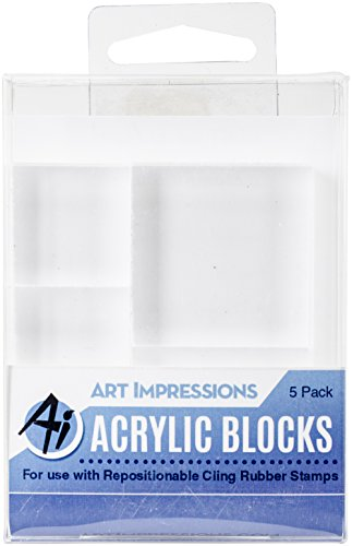 Art Impressions Acrylic Block Variety 5 Pack by Art Impressions
