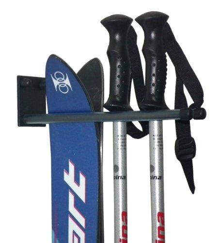 Skihalter Skiträger Skistöcke Nordic Walking Stöcke Gerätehalter Ski Aufbewahrung