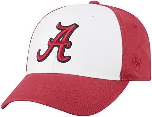 online retailer b08c2 2789d Top of the World NCAA-Premium Collection Retro 2-Tone Fitted Hat Cap
