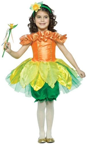 Child 4-6X Daffodil Costume Rasta Imposta (Childrens Daffodil Costumes)