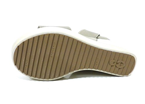 Stonefly Second Skin 106600 I31 fog sandali zeppa alta grigio con elastici
