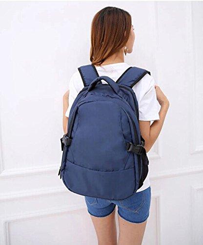 LCY venda de la mochila de pañales de bebé en los cambios de bolsa de pañales incluyen bolsa de transporte morado morado azul