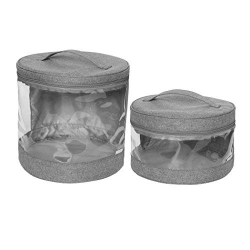 Cole Clear Storage Bin Slate