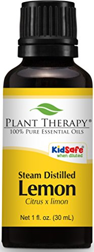 Plant Therapy Lemon Steam Distilled Essential Oil. 100% Pure