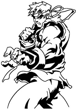 Amazon Com Street Fighter Roy Decal Sticker For Macbook Laptop