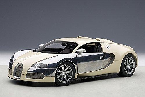 suministro de productos de calidad - Bugatti EB Veyron 16.4 16.4 16.4 Edition Centenaire, light beige Chrome, 2009, Model Car, Ready-made, AutoArt 1 18 by Bugatti  nuevo listado