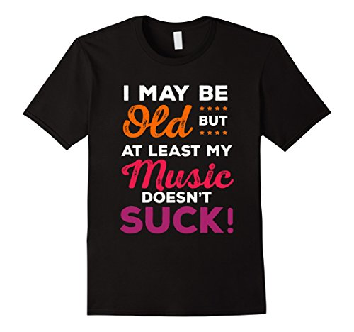 Mens Funny Old Man T-Shirt, Gifts For Men Who Have Everything Tee Large Black