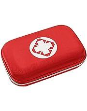JAWSEU Första hjälpen-kit, tom första hjälpen-väska, vattentät första hjälpen överlevnadsväska, första hjälpen-väska medicinsk nödsituation påse överlevnadskit bärväska för resor, hem, kontor, camping