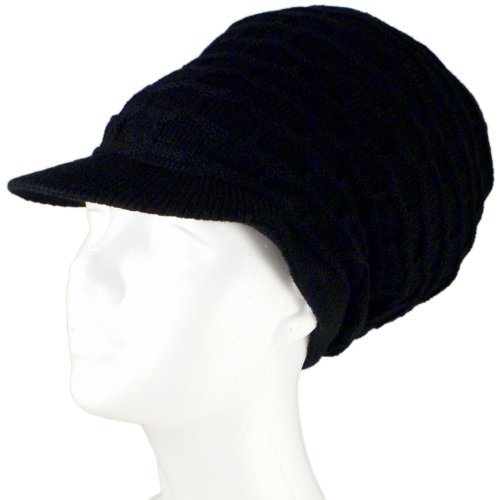 (SSK® Rasta Dread Knit Tam Hat -