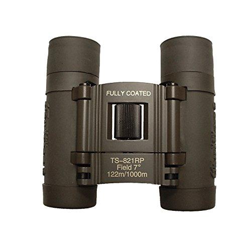 Galileo 8x21mm Compact Roof Prism Binoculars - Grey