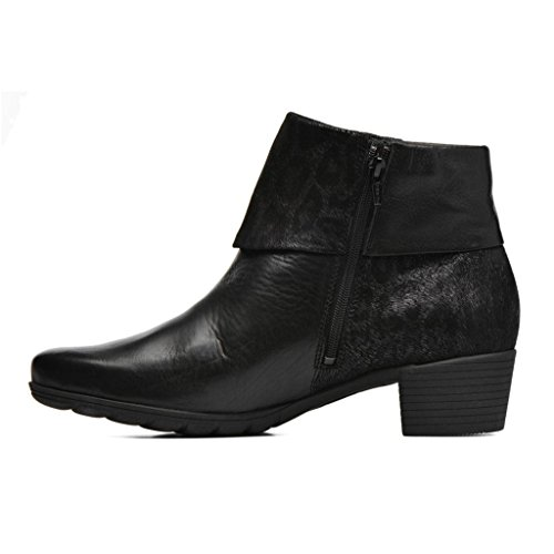 Womens Leather Iris Black Boots Mephisto ZO7wq8