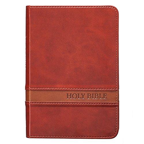 Holy Bible: Brown KJV Bible Large Print Compact ()
